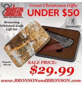 Browning Browning Whitetail Knife Gift Set