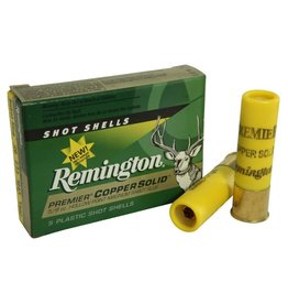 "Remington Remington Premier Copper Solid Hollow Point Magnum Sabot Slug 20g 2 3/4"" 1500 fps 5/8oz."