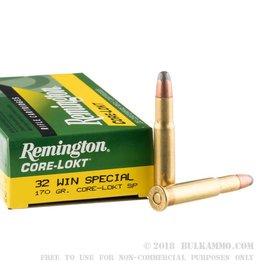 REMINGTON AMMUNITION Remington 32 Win Special 170Gr SP