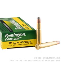 Remington Remington 32 Win Special 170Gr SP