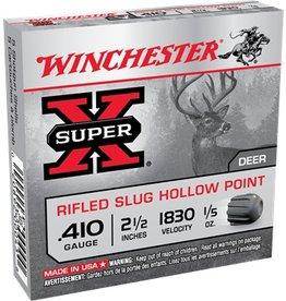 WINCHESTER - AMMUNITION WIN 410 21/2 1830 1/5 Rifled Slug Hollow Point 5