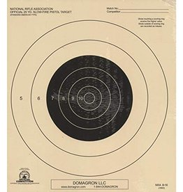CHAMPION TARGETS Slow Fire Pistol Target