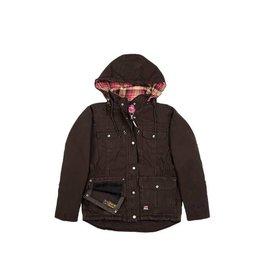 Berne Ladies Lima One Three Jacket DARK BROWN