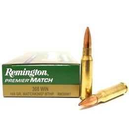Remington REMINGTON MATCHKING 308WIN 168GR BTHP 20/