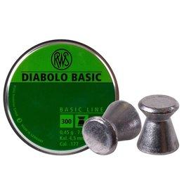 RWS RWS Diablo Basic .177 7.0 grains Wadcutter 300 count