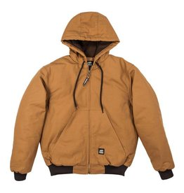 Berne Youth Hooded Jacket BROWN DUCK