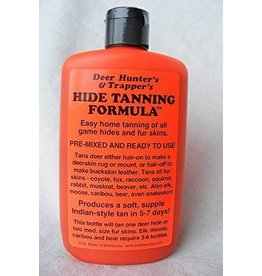 Trappers hide tanning formula
