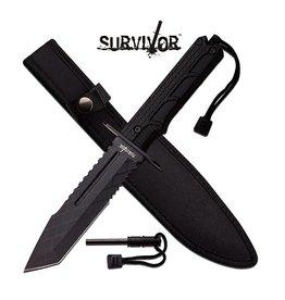 "Survivor SURVIVOR HK-796TW FIXED BLADE KNIFE 12"" OVERALL"