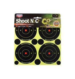 "Birchwood Casey Shoot-N-C 3"" Targets 48ct bullseye targets"