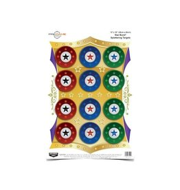 "Birchwood Casey Pregame Star Burst Target 12""x18"" 8ct"