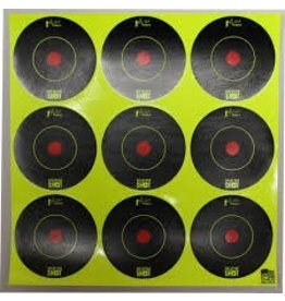 Pro Shot Products Splatter Shot 2x2 Green Peel & Stick Target - 108 Targets