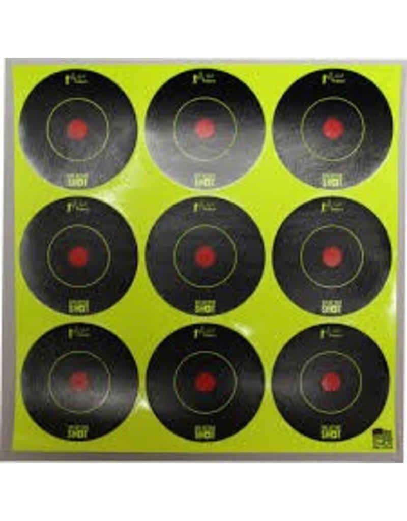 Pro Shot Products Splatter Shot 2x2 Green Peel & Stick Target - 108 Targets