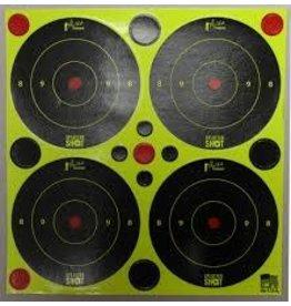 "Pro-Shot Products Splatter Shot 3""x3"" Peel & Stick Green Targets - 48 Targets"