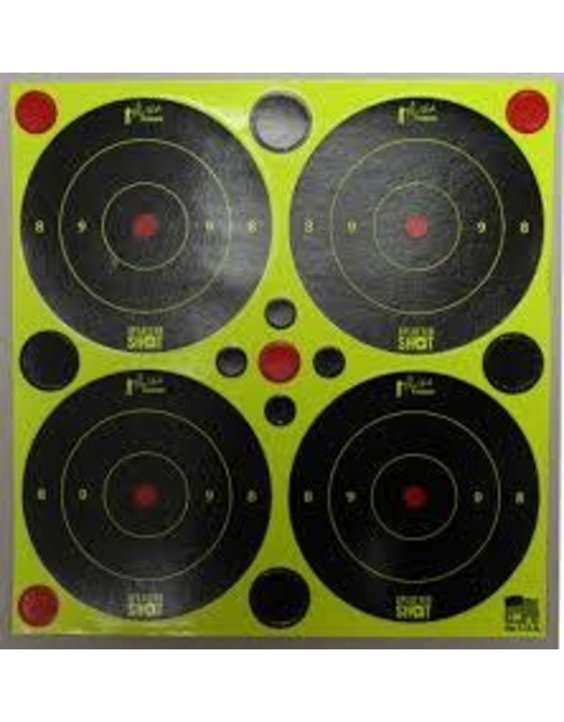 "Pro-Shot Products Splatter Shot 3""x3"" Peel & Stick Green Targets - 48 Targets"