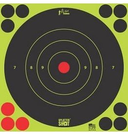 "Pro Shot Products Splatter Shot 8"" Green Bullseye Target Peel & Stick - 6 Qty Pack"