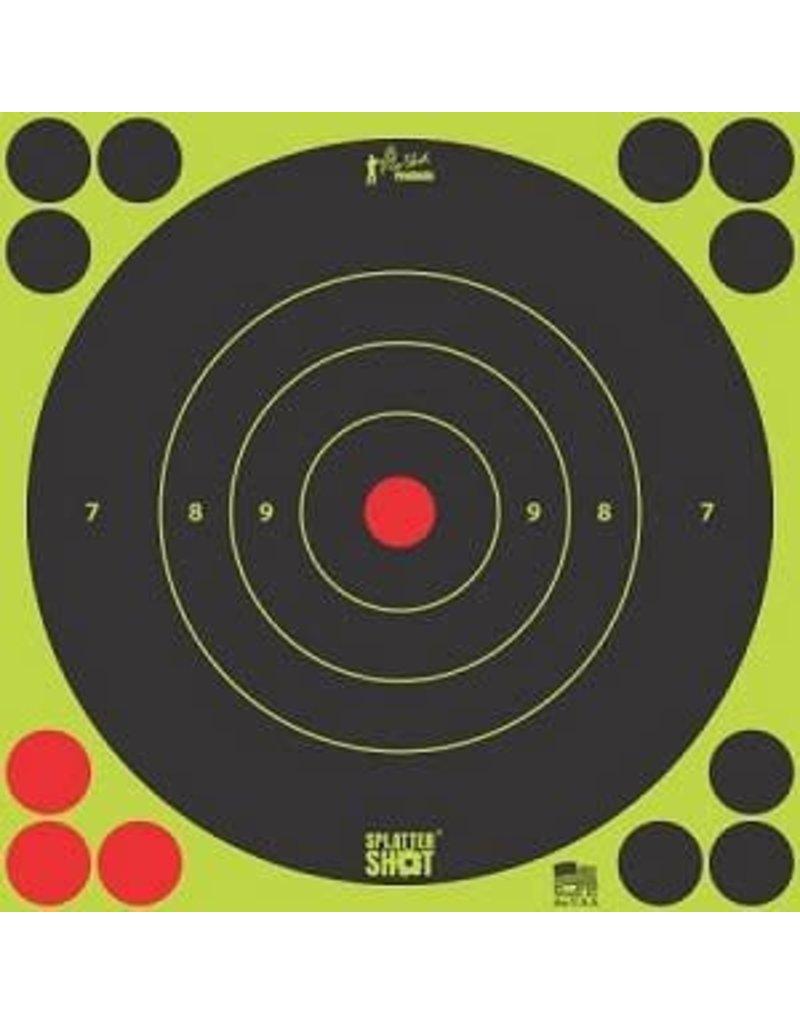 "Pro-Shot Products Splatter Shot 8"" Green Bullseye Target Peel & Stick - 6 Qty Pack"