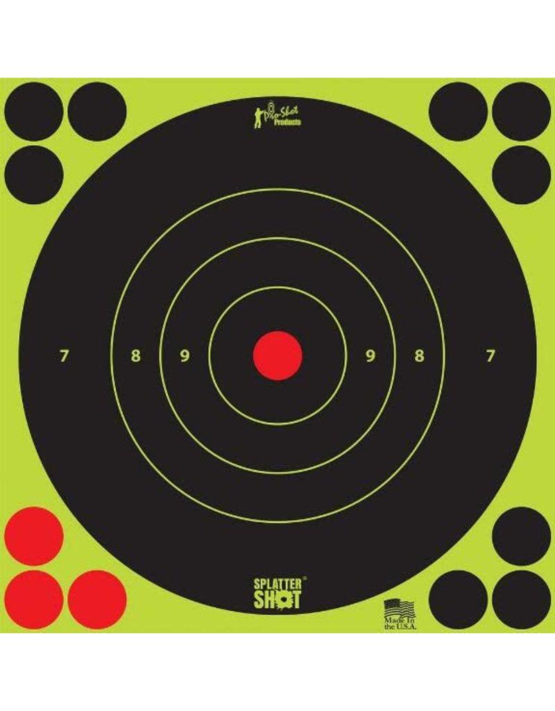 "Pro-Shot Products Splatter Shot 12"" Green Bullseye Target Peel & Stick - 5 Qty Pack"