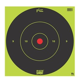 "Pro-Shot Products Splatter Shot 12"" Green Bullseye Target - Tag Paper - 5 Qty Pack"