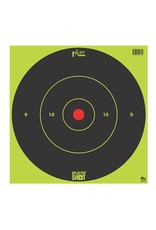 "Pro-Shot Products Splatter Shot 12"" Green Bullseye Target - Tag Paper - 5 Qty Pack"