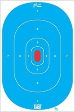 """Pro Shot Products 12""""x18"""" Blue Silhouette Insert Tag Paper Target - 8 pack"""