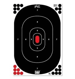 "Pro Shot Products 12""x18"" Silhouette Target Insert - Peel & Stick - 5 Qty pack"