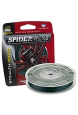 Spiderwire Spiderwire SCS15G-200 15Lb Stealth Braided Line 200yd Filler Spool Moss Green