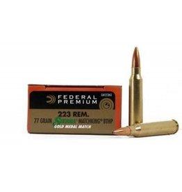 Federal FEDERAL 223 77GR BTHP GM