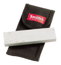 Smith's Sharpeners 4IN ARKANSAS STONE W/POUCH