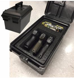 MTM Mtm 3 Gun Tactical Pistol Case
