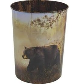 Rivers Edge Bear Themed Trash Bins