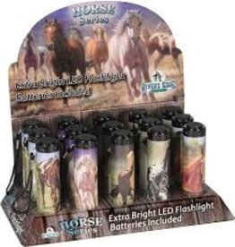 Rivers Edge Horse LED Flashlight