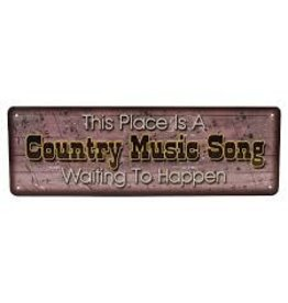 Rivers Edge Country Music Sign