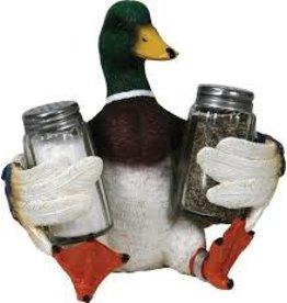 Rivers Edge Duck S&P Shaker Holder