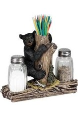 Rivers Edge Bear S&P Shaker/Toothpick Holder