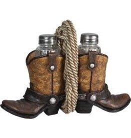 Rivers Edge Cowboy Boots S&P Shaker Holder