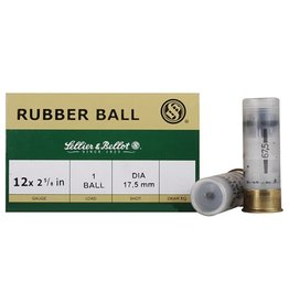 Sellier & Bellot Sellier and Bellot 12Ga Rubber Ball