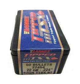 BARNES Barnes Tipped TSX Bullets 224dia 62Gr