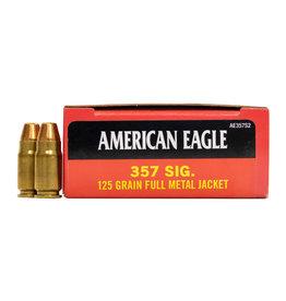 Federal Federal American Eagle 357 SIG 125GR FMJ