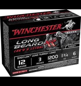 Winchester WINCHESTER LONG BEARD XR TURKEY LOAD 12GA 3IN 1.75OZ 6 SHOT 10/BX