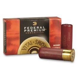 """Federal Federal Premium 12Ga 2-3/4"""" 00 buckshot"""