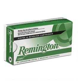 Remington REMINGTON UMC AMMO 9MM LUGER 124GR FULL METAL JACKET 50/BX