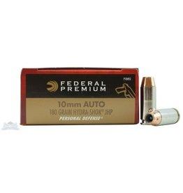 Federal Federal Premium 10 mm AUTO 180 gr Hydra-Shok JHP