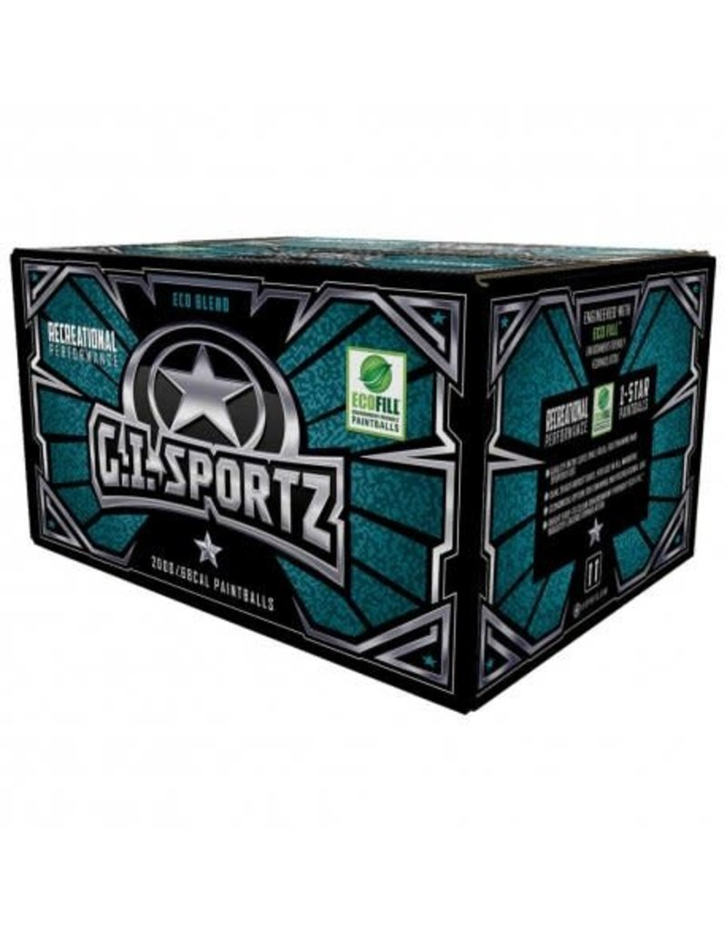 GI Sportz GI Sportz 1-Star Paintballs - 2000ct