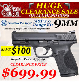 Smith & Wesson Smith and Wesson M&P 2.0 9mm Range Kit