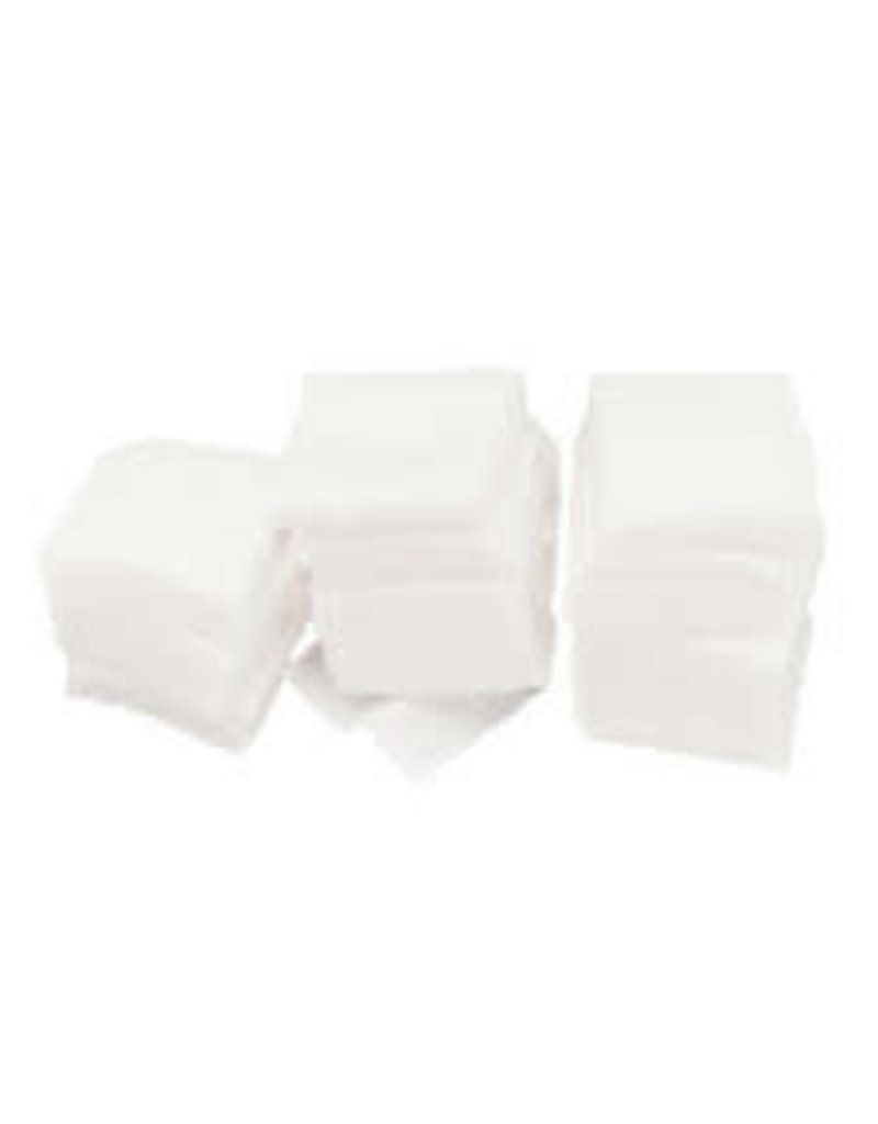 Gun Cleaning Patches 22-26 Cal Square - Cotton Package of 100