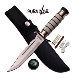 "Survivor SURVIVOR HK-695 SURVIVAL KNIFE 9.5"" OVERALL"