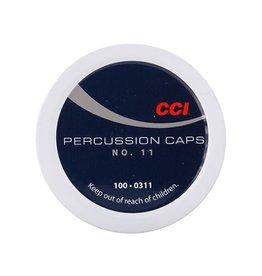 CCI Ammunition CCI PERCUSSION CAPS #11 100/BX