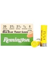 REMINGTON AMMO Remington 20Ga 7/8 oz #8 Gun Club