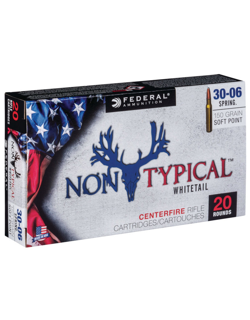 Federal Ammunition 30-06 Non typical soft point 150 gr