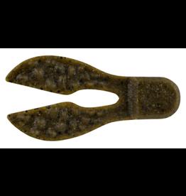 """Berkley Berkley PBMSMC3-BBF Powerbait Maxscent Meaty Chunk 3"""" 6pk Black Blue Fleck"""